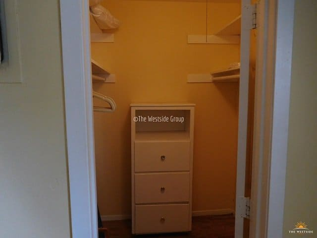 spacious storage space for every studio unit