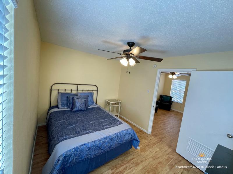 separate bedroom full unit apartment
