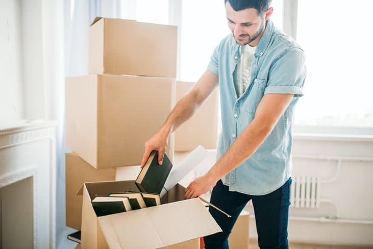 Student moving to off-campus apartment