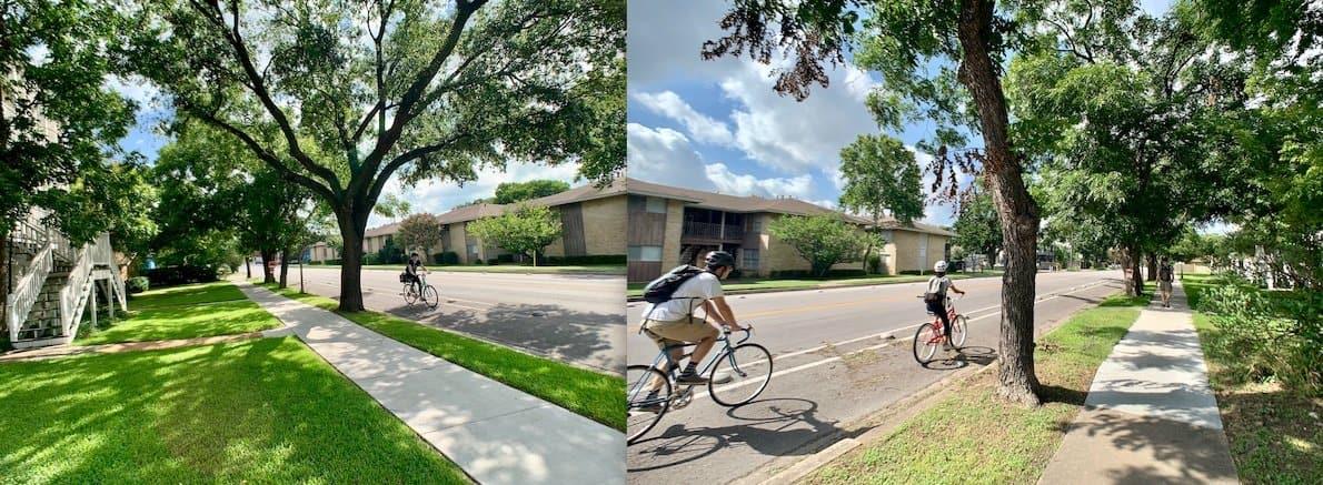 North Campus Austin Apartment Residential Area