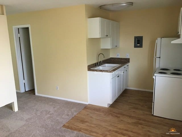 Full Kitchen and Dining North University Apts