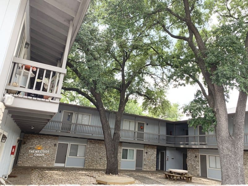 austin student housing balcony
