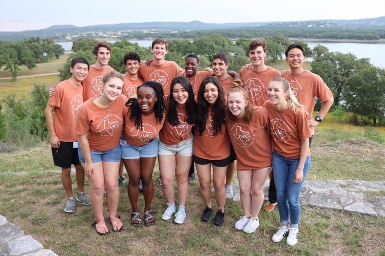 UT Austin students from various backgrounds